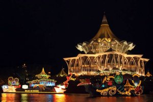 Sarawak Borneo Kuching waterfront2